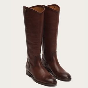 FRYE Melissa Button Riding Boot